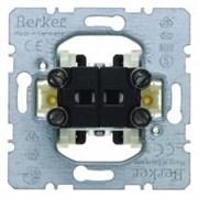 303550 Двухклавишный выключатель для полых стен  Модульные механизмы Berker