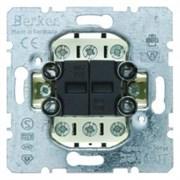 503808 Двухклавишные кнопки  Модульные механизмы Berker