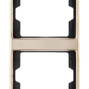 Рамка 2-поста вертикальная, Berker Arsys copper Med цвет: медь13230007