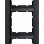 Рамка 5-постов вертикальная, Berker B.1 цвет: антрацит, матовый 10151606