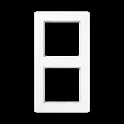 Jung A Flow - Рамка 2-ая, цвет белый
