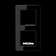 Jung A Flow - Рамка 2-ая, цвет черный