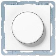Поворотный Светорегулятор светодиодный(LED), проходной, белый