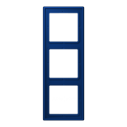 Рамка 3-кратная bleu outremer fonc?