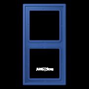 Рамка 2-кратная bleu outremer 59