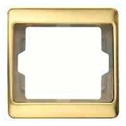 Рамка одинарная Arsys, золотой матовый 13140002