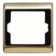 Рамка одинарная Arsys, светлая бронза 13140001