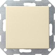 Клавишный выключатель с самовозвратом 10 А / 250 В~ в сборе Gira System 55 Кремовый