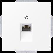 Компьютерная розетка 1-ая, Белый