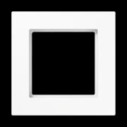 Jung A550 - Рамка 1-ая, цвет белый (A5581BFWW)