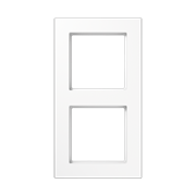 Jung A550 - Рамка 2-ая, цвет белый (A5582BFWW)