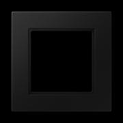 Jung A550 - Рамка 1-ая, цвет матовый черный