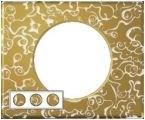 Рамка трехместная Legrand Celiane Фарфор-золотая феерия