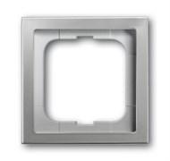 Рамка 1-пост, ABB pur edelstahl цвет сталь