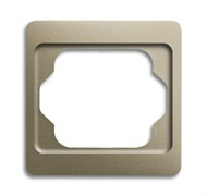 Рамка 1-пост, ABB alpha цвет коричневый