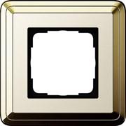 Рамка Gira ClassiX одноместная Латунь-кремовый 0211633