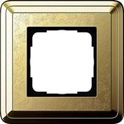 Рамка Gira ClassiX Art одноместная Латунь 0211671