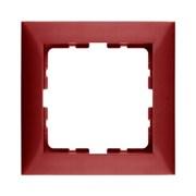 Рамкa 1-пост, Berker S.1, цвет: красный, с блеском 10118962