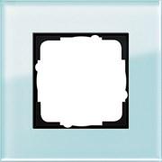 Рамка 1-пост, Gira Esprit Салатовое стекло