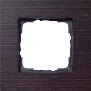 Рамка 1-пост, Gira Esprit Дерево Венге 021111