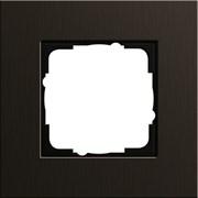 Рамка 1-пост, Gira Esprit Алюминий коричневого цвета