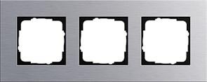 Рамка 3-пост, Gira Esprit Алюминий