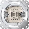Механизм 1-полюсного кнопочного выключателя с замыкающим контактом и отдельным сигнальным контактом Shnider Merten