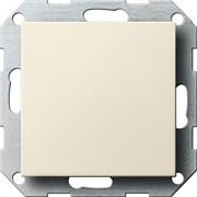 Заглушка с опорной пластиной Gira System 55 Кремовый 026801