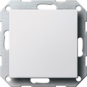 Заглушка с опорной пластиной Белый 026827