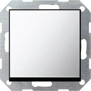 Клавишный перекрёстный выключатель Gira в сборе Хром 10700/0296605