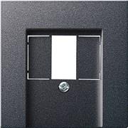 USB розетка в сборе Gira System 55 Антрацит