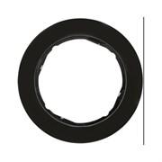 Рамкa 1-пост, Berker R.Classic, Материал: пластик цвет: Чёрный 10112045