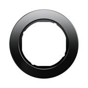 Рамкa 1-пост, Berker R.Classic, Материал: стекло цвет: Чёрный 10112016