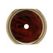 Декоративная промежуточная накладка для поворотных выключателей/кнопок, Berker Palazzo цвет: коричневый