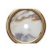 Декоративная промежуточная накладка для поворотных выключателей/кнопок, Berker Palazzo цвет: Белый