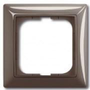Рамка ABB Basic 55 с декоративной накладкой - пятиместная (слоновая кость)