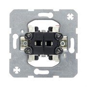 Механизм 1-полюсного двухкнопочного выключателя с 2-мя замыкающими контактами Berker