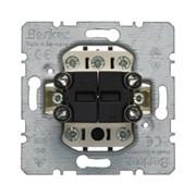 Механизм 1-полюсного двухкнопочного выключателя с 4-мя замыкающими контактами Berker